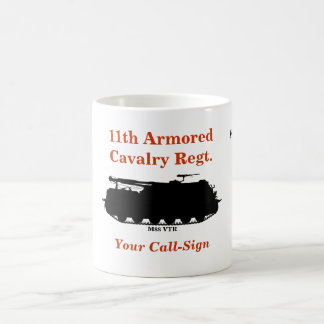 11th Armored Cavalry M88 VTR Custom Mug
