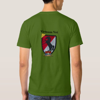 11th Armored Cavalry Regiment ACR Vietnam Nam Vets Tshirts