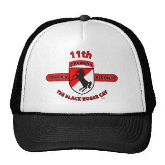 """11TH ARMORED CAVALRY REGIMENT """"BLACK HORSE CAV"""" CAP"""