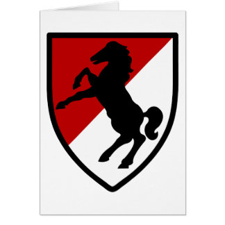 11th Armored Cavalry Regiment Card
