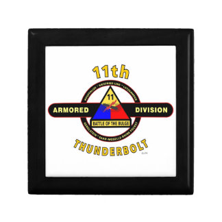 "11TH ARMORED DIVISION ""THUNDERBOLT"" GIFT BOX"