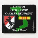 11th Armour Cav Vietnam Mousepad 2/b
