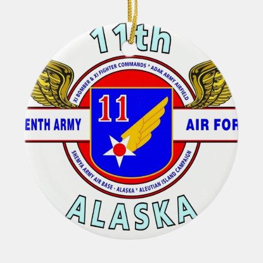 "11TH ARMY AIR FORCE ""ARMY AIR CORPS""  WW II ORNAMENT"