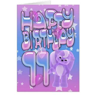11th Birthday Card, Happy Birthday