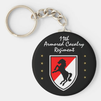 11th BLACKHORSE ARMORED CAVALRY REGIMENT Key Ring