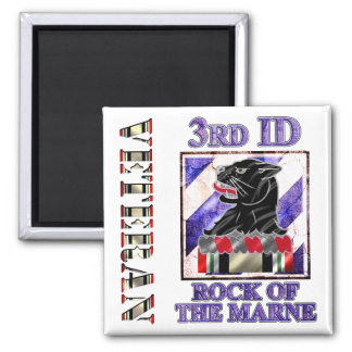 11th Engineer Battalion Fridge Magnet
