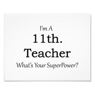 11th. Grade Teacher Photograph