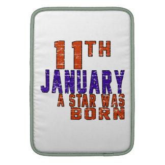 11th  January a star was born MacBook Air Sleeves