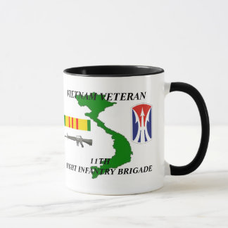 11th Light Infantry Brigade Veteran Coffee Mugs