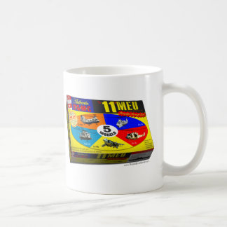 11th MEU Aircraft Model Box Classic White Coffee Mug
