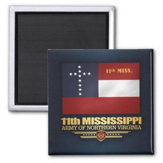 11th Mississippi Infantry Magnet