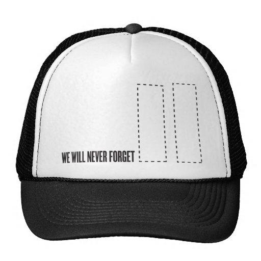 11th september attacks hats