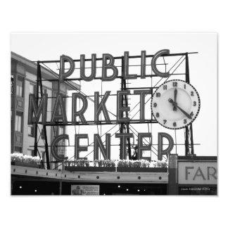 11X14 Pike Place Market Seattle WA Photo