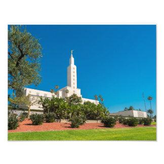 "11x14"" Professional Photo of the LA LDS Temple"
