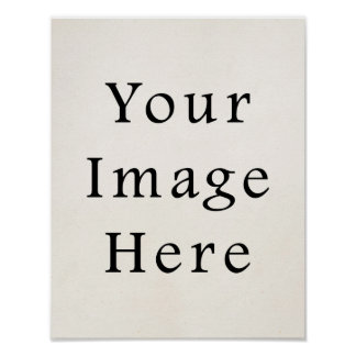 11x14 Square Posters Personalized Poster Paper
