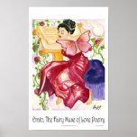 11x17 Erato The Fairy Muse Poster