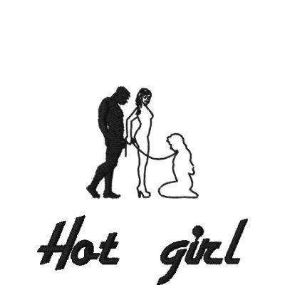 120425526905761681, Hot girl Embroidered Polo Shirt