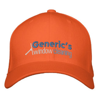 120943557324925892, Generic's, window, cleaning Embroidered Baseball Cap