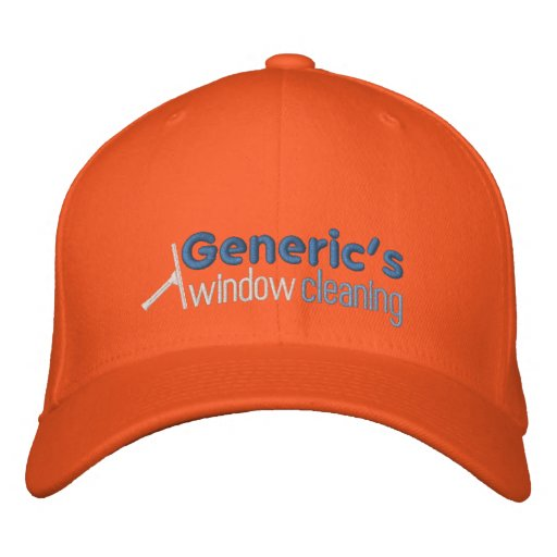 120943557324925892, Generic's, window, cleaning Embroidered Hat