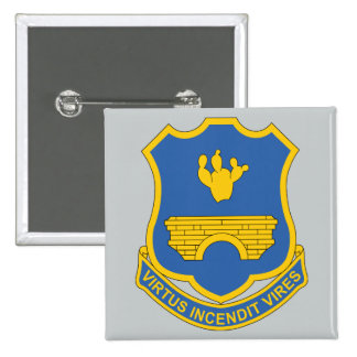 120th Infantry Regiment 15 Cm Square Badge