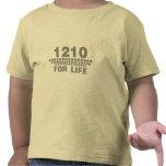 1210 For Life -Turntable DJ Deck Music Disc Jockey Shirts