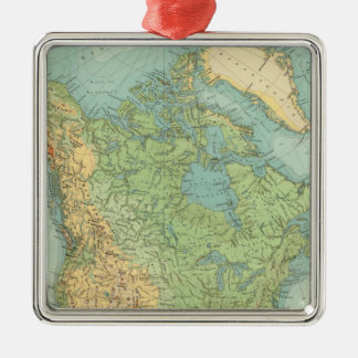 12122 North America Physical Christmas Ornament