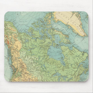 12122 North America Physical Mouse Mat