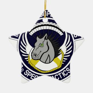 123 Special Tactics Squadron Ceramic Star Decoration