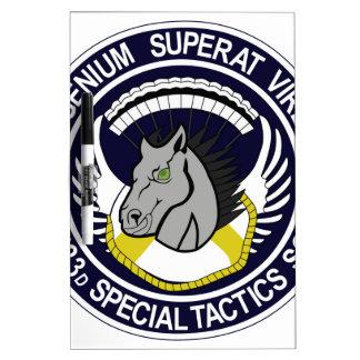 123 Special Tactics Squadron Dry-Erase Boards
