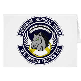 123 Special Tactics Squadron Greeting Card