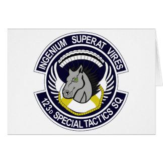 123 Special Tactics Squadron Greeting Card
