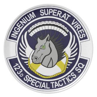 123 Special Tactics Squadron Plates