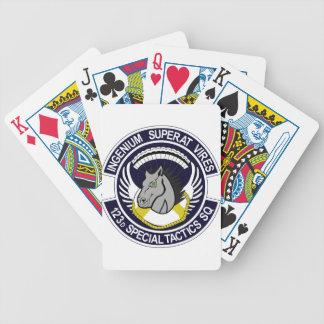 123 Special Tactics Squadron Poker Cards