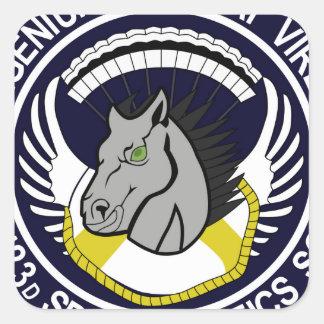 123 Special Tactics Squadron Square Sticker