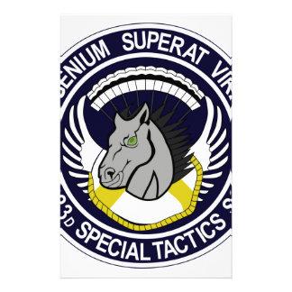 123 Special Tactics Squadron Custom Stationery