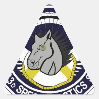 123 Special Tactics Squadron Triangle Sticker