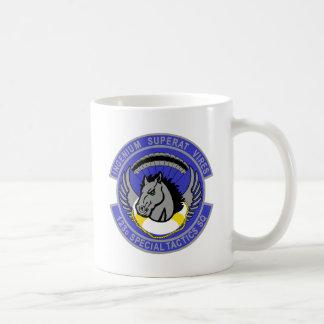 123d Special Tactics Squadron Basic White Mug