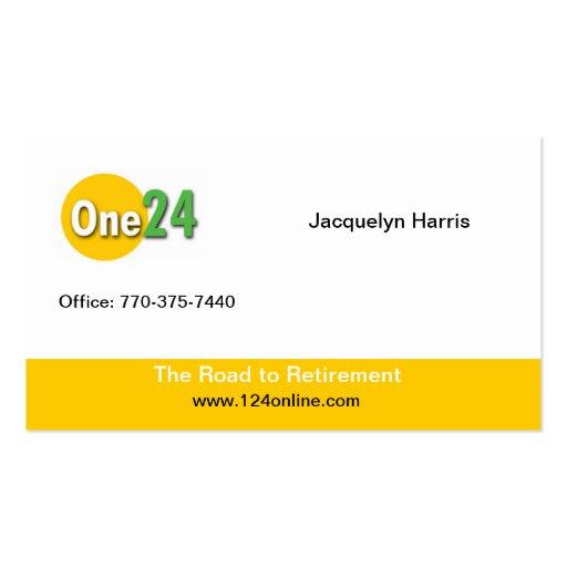124 Online Custom Business Card