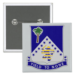 125th Infantry Regiment - Yield To None 15 Cm Square Badge