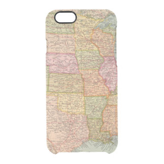 12728 United States Clear iPhone 6/6S Case