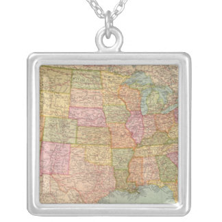 12728 United States Silver Plated Necklace