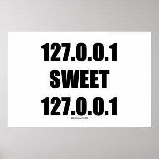 127.0.0.1 Sweet 127.0.0.1 (Home Sweet Home Geek) Posters
