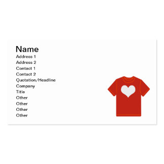 1280963561_Vector_Clipart heart tshirt love Pack Of Standard Business Cards