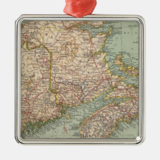 129 Maine, Nova Scotia, New Brunswick, Quebec Christmas Ornament