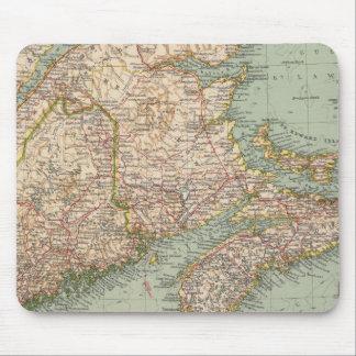 129 Maine, Nova Scotia, New Brunswick, Quebec Mouse Mat