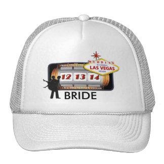 12 13 14 BRIDE Las Vegas Wedding Hat