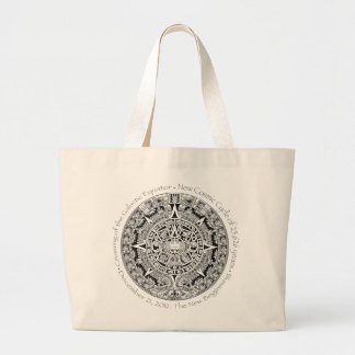 12.21.2012: The New Beginning Mayan commemorative Jumbo Tote Bag