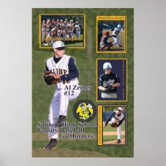 #12 Al 2008 Saline Baseball Poster