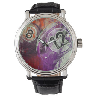 12 and 8 Billiards Watches