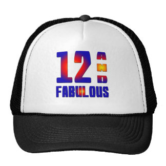 12 And Fabulous Trucker Hats